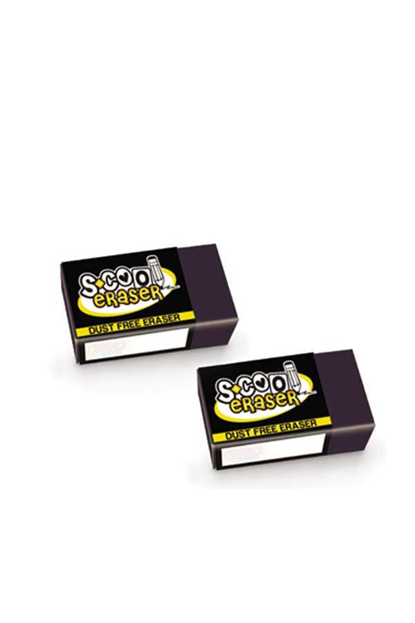 Γόμα μικρή μαύρη S.COOL SC.030