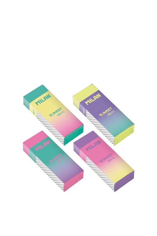 Γόμα χρωματιστή 1 τεμ. MILAN SUNSET 320SN