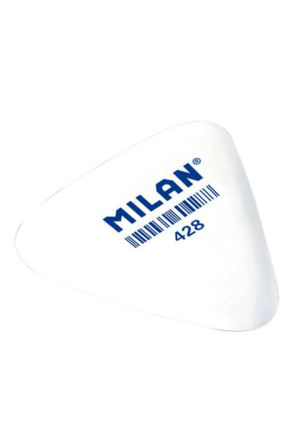 Γόμα τριγωνική λευκή MILAN 428