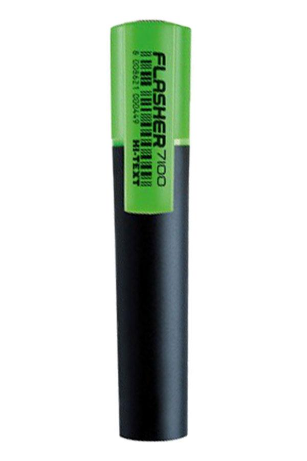 Μαρκαδόρος υπογράμμισης HI-TEXT πράσινο 7100