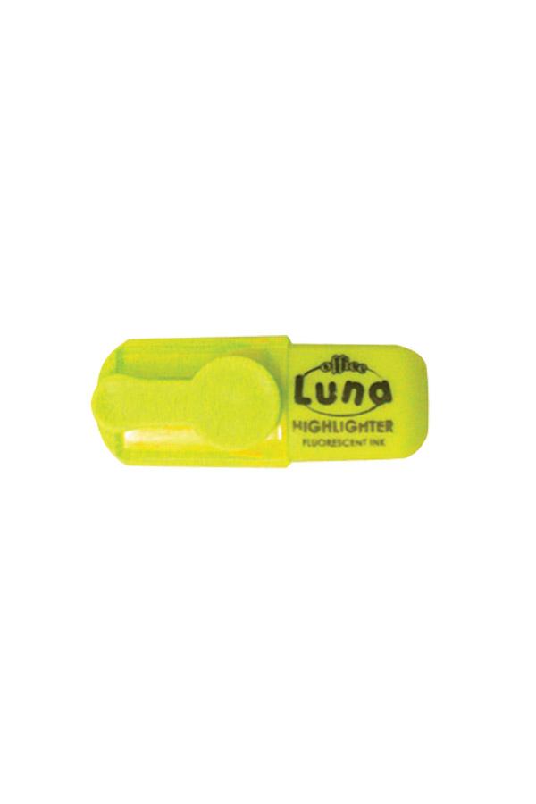 Μαρκαδόρος υπογράμμισης mini Luna κίτρινο 0620499