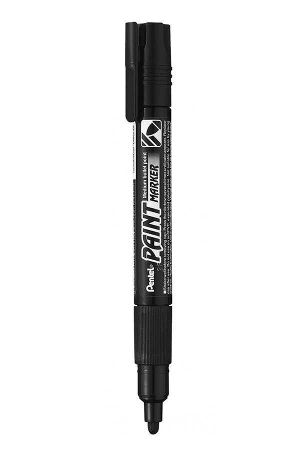 Μαρκαδόρος ακρυλικός Pentel Paint MMP20-AO μαύρο