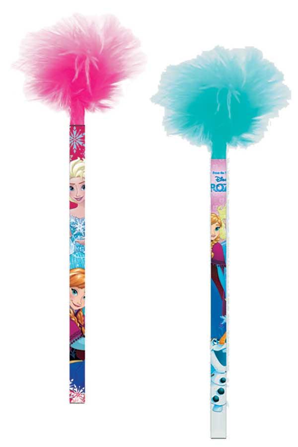Μολύβι fancy με πούπουλα Frozen 0561057