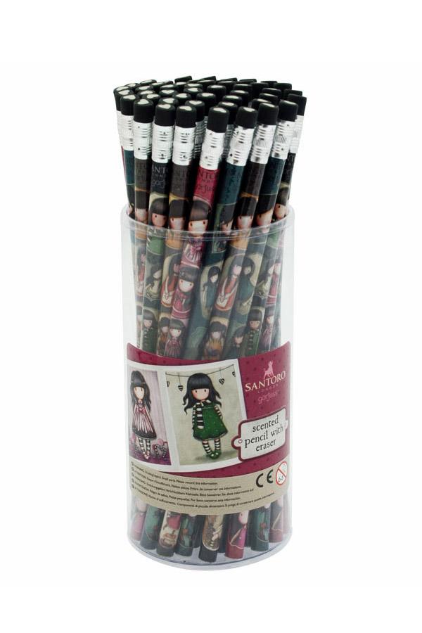 Μολύβι με γόμα Santoro gorjuss 666GJD01