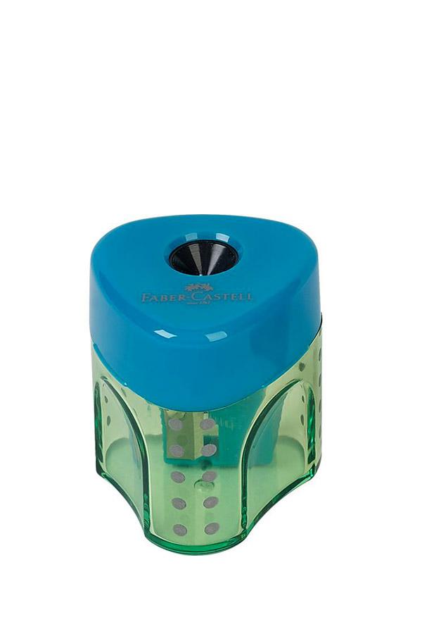 Ξύστρα βαρελάκι FABER CASTELL GRIP mini τυρκουάζ 183405