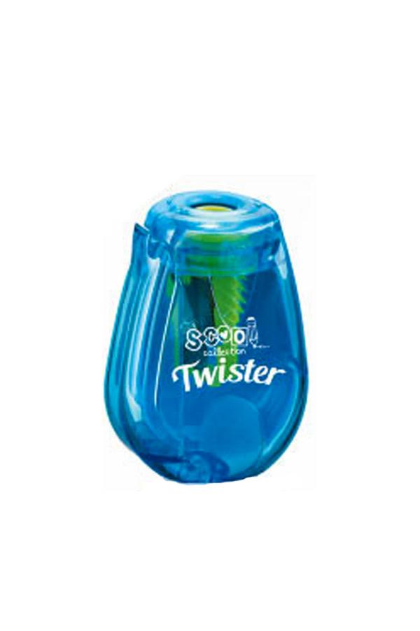 Ξύστρα βαρελάκι με καστάνια Twister S.COOL γαλάζιο SC.580