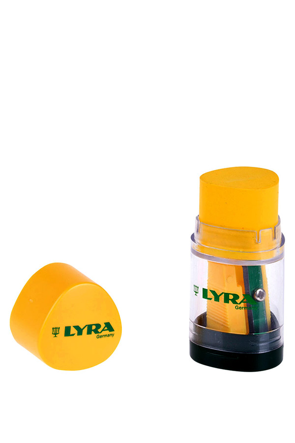 Ξύστρα βαρελάκι με γόμα LYRA 7307100