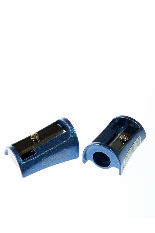 Ξύστρα μεταλλική S.COOL γαλάζιο SC.574