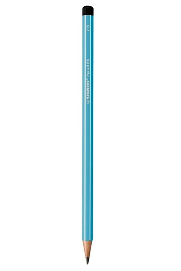 Μολύβι STABILO 2B Pencil 68 γαλάζιο 285