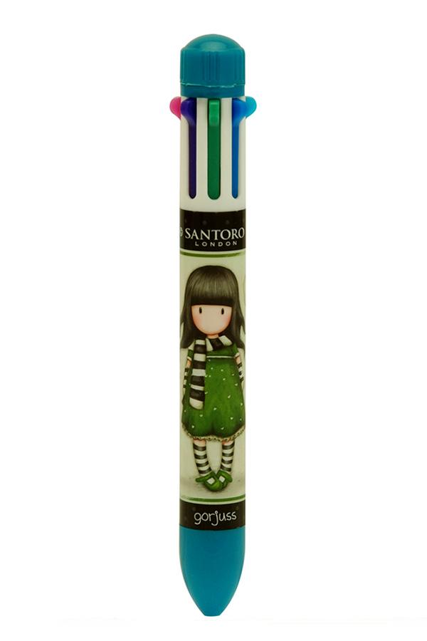 Στυλό Santoro gorjuss multipen 8 χρωμάτων The scarf 503GJ03