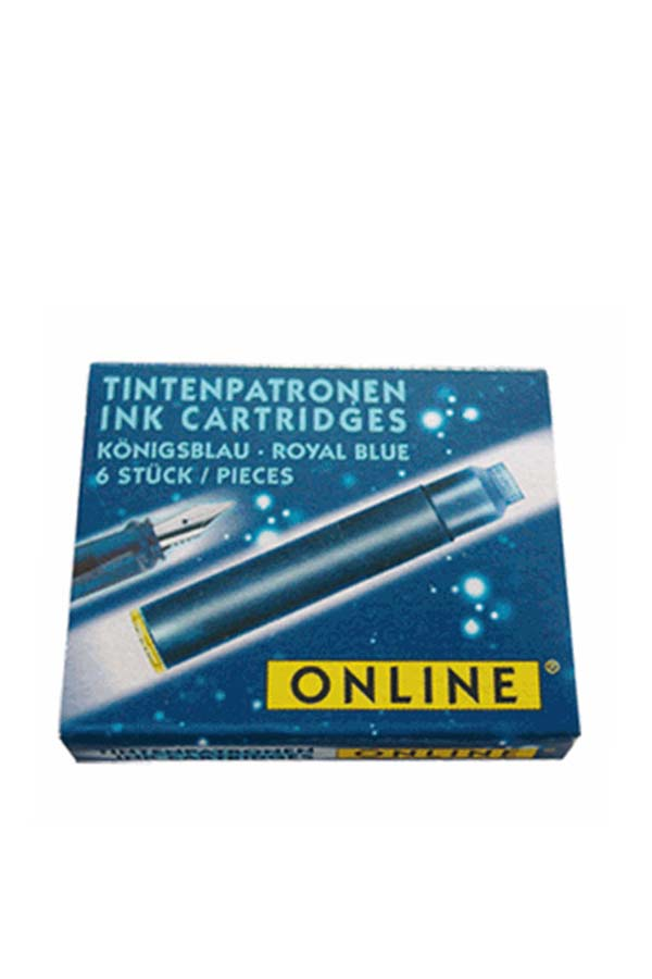 Ανταλλακτικό αμπούλα μελάνης ONLINE μπλε 17012/48