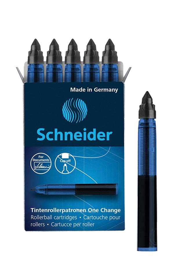 Ανταλλακτικό αμπούλα μελάνης One Change Schneider μαύρο 185401