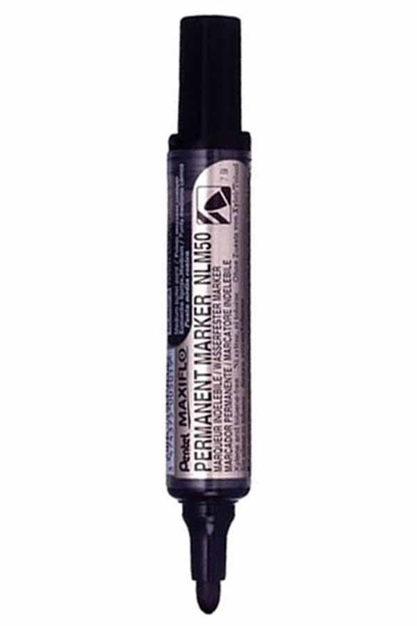 Μαρκαδόρος ανεξίτηλος Pentel MAXIFLO NLM50-A μαύρο