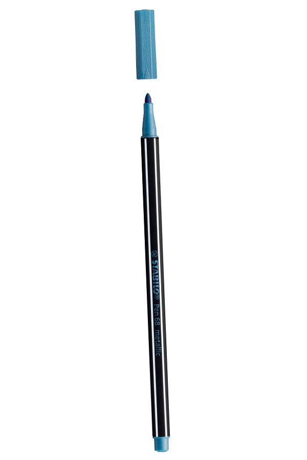 Μαρκαδόρος STABILO 68 metallic μπλε 68/841