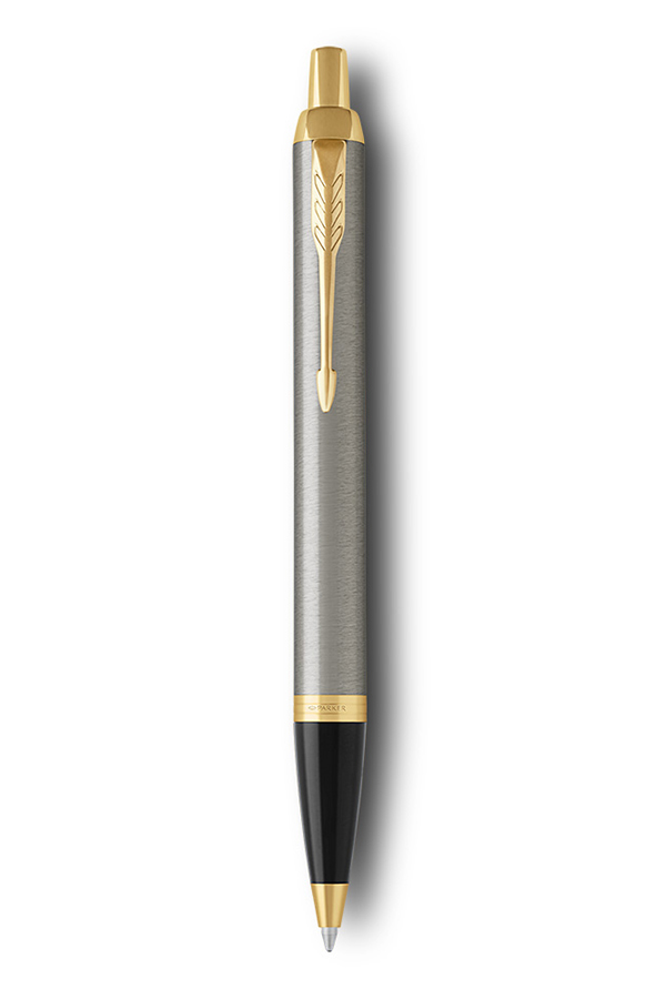 Στυλό PARKER I.M. Brushed Metal Black GT Ballpen 1159.4003.09