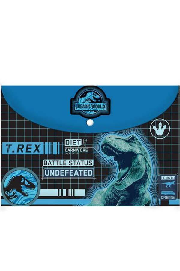 Φάκελος με κουμπί Α4 Jurassic World 000570751