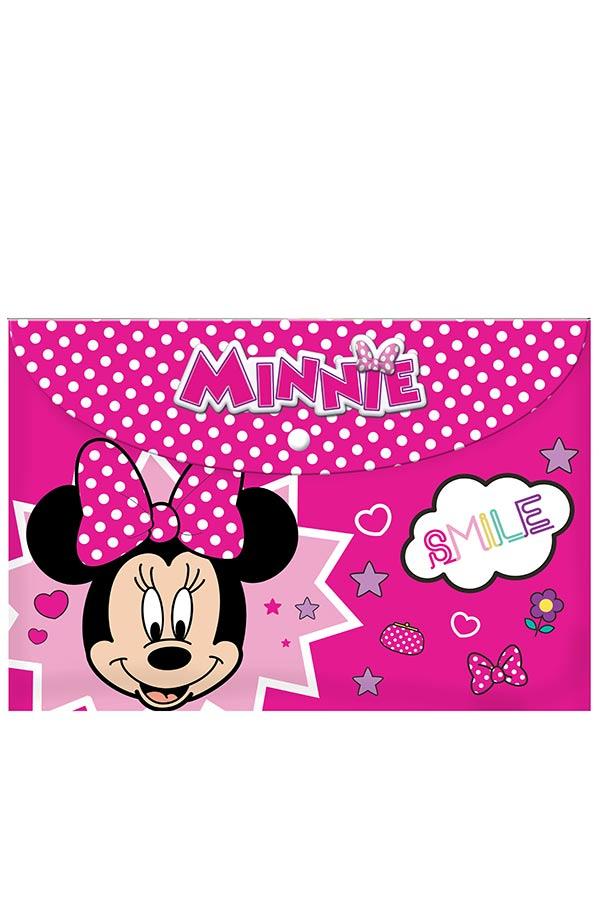 Φάκελος με κουμπί Minnie Smile 0562207