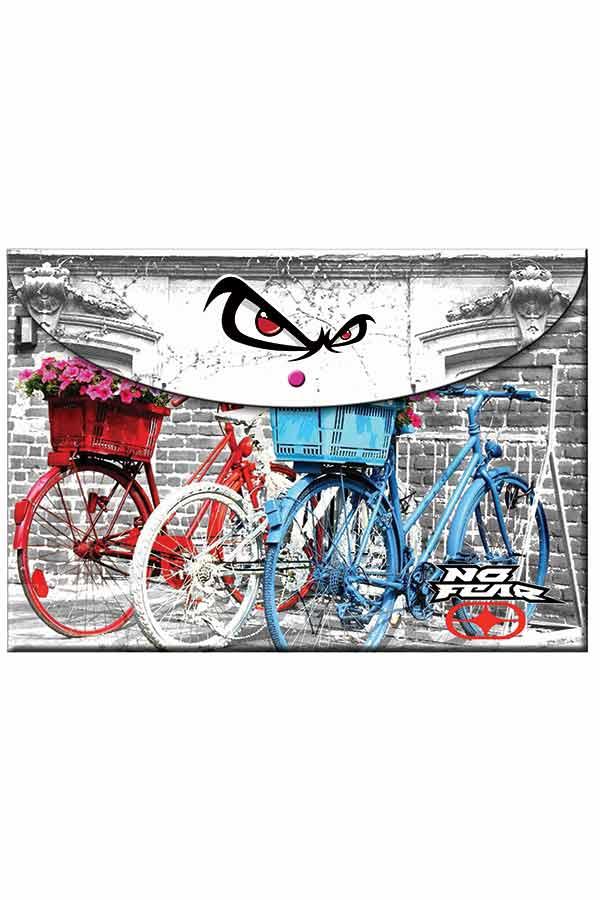 Φάκελος με κουμπί NO FEAR ποδήλατα 34700580