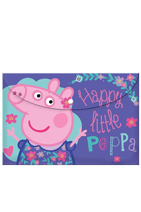 Φάκελος με κουμπί Happy little Peppa 0482434