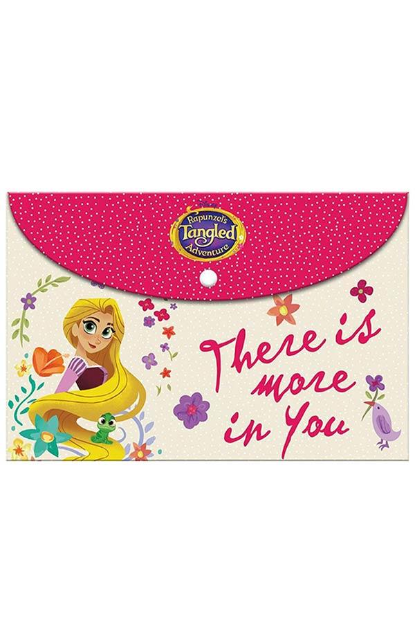 Φάκελος με κουμπί Α4 Rapunzel΄s Tangled 000562725