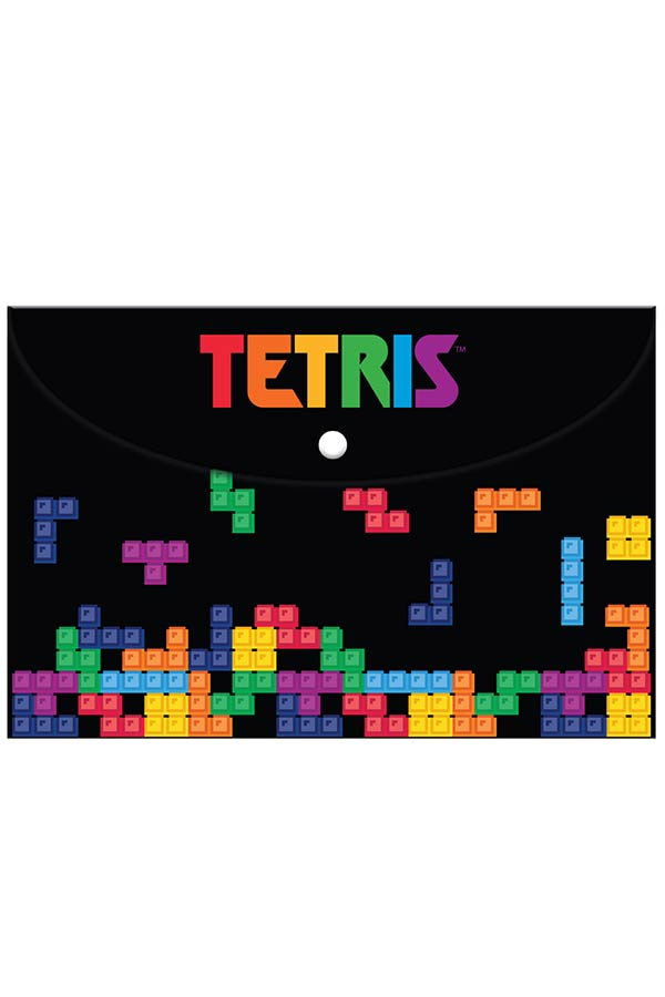 Φάκελος με κουμπί Α4 TETRIS 000504040