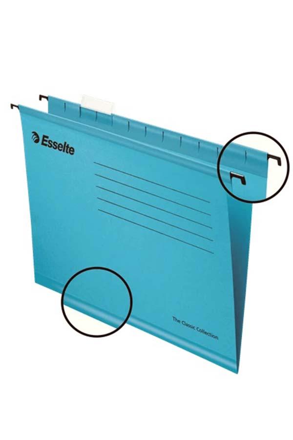 Φάκελος κρεμαστός Α4 μπλε Esselte 90311