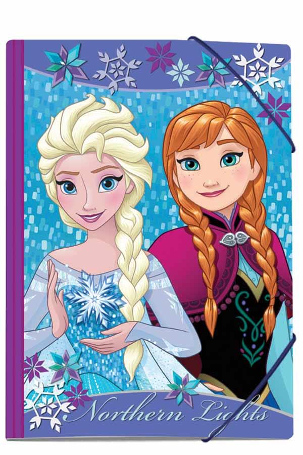 Ντοσιέ με λάστιχο 25x35cm Elsa and Anna 0561559
