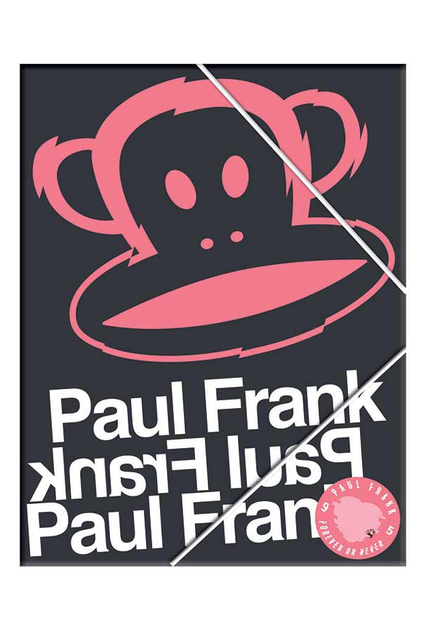 Ντοσιέ με λάστιχο 24x32cm Paul Frank 34654510
