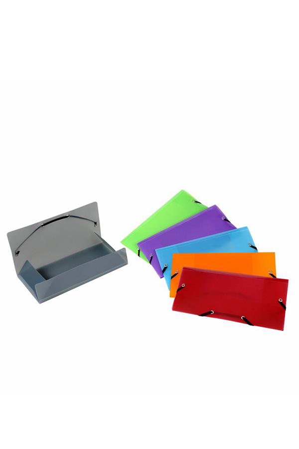 Ντοσιέ με λάστιχο πλαστικό μικρό VIQUEL 12x23,5cm