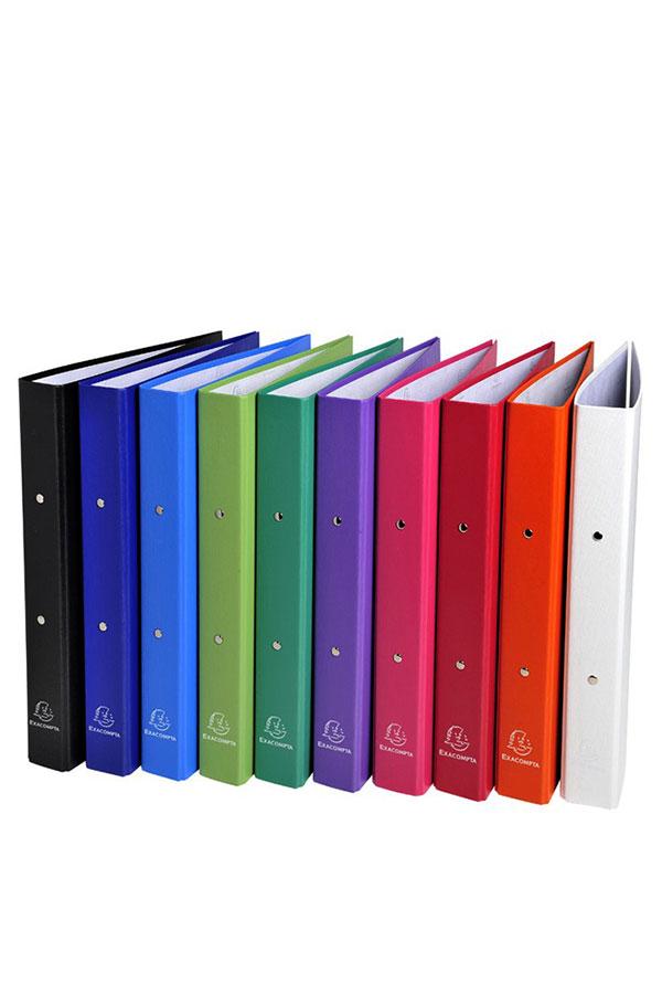 Κλασέρ 4 κρίκων Α4 mix χρώματα EXACOMPTA 51330E