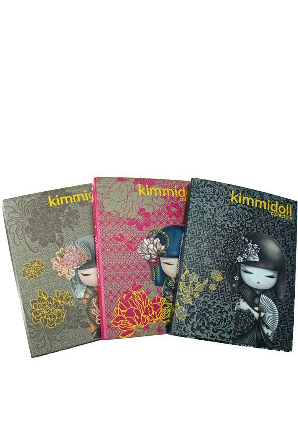 Κλασέρ σχολικό Α4 δύο κρίκων Kimmidoll - Strong hearted 15308