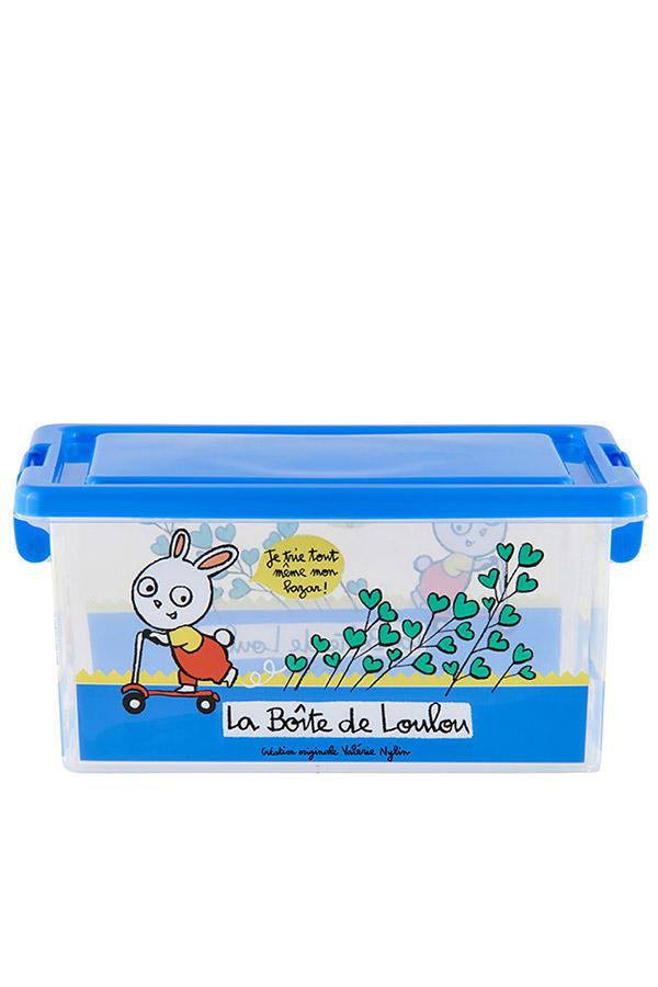 Κουτί αποθήκευσης πλαστικά 25,5x18,5x12cm Κουνελάκι D005-P090110