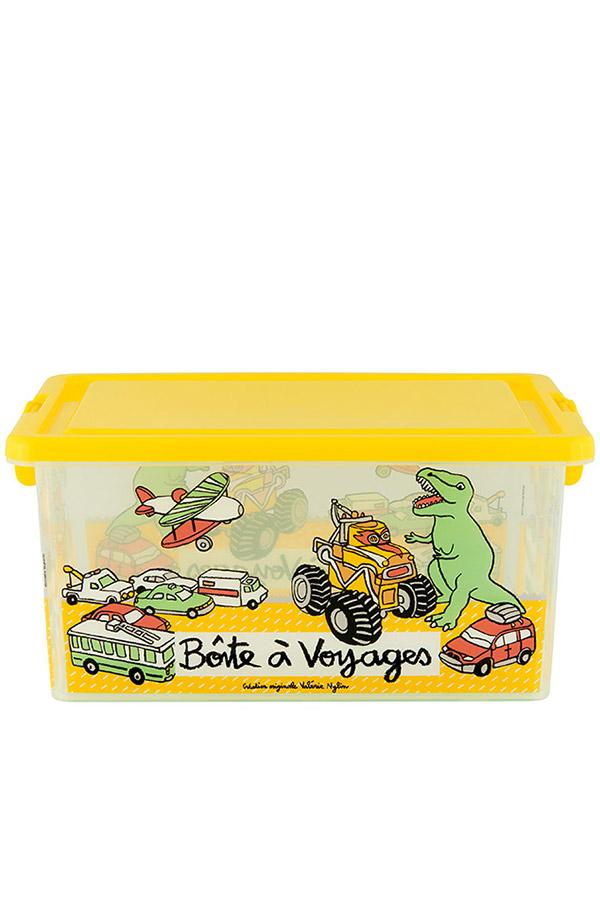 Κουτί αποθήκευσης πλαστικά 39x29x20cm Boîte a voyages D005-P090165
