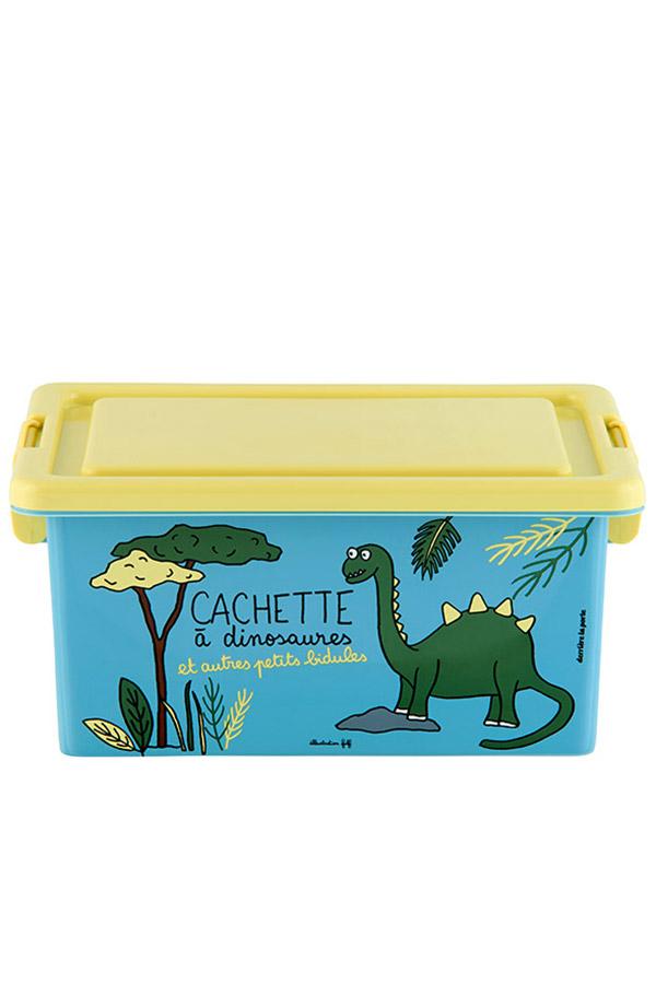 Κουτί αποθήκευσης πλαστικά 25,5x18,5x12cm Δεινόσαυρος D005-P090070