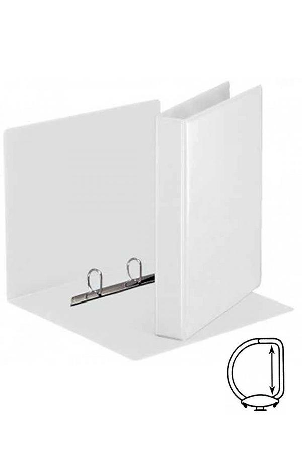 Κλασέρ παρουσίασης 2 κρίκων 7cm λευκό