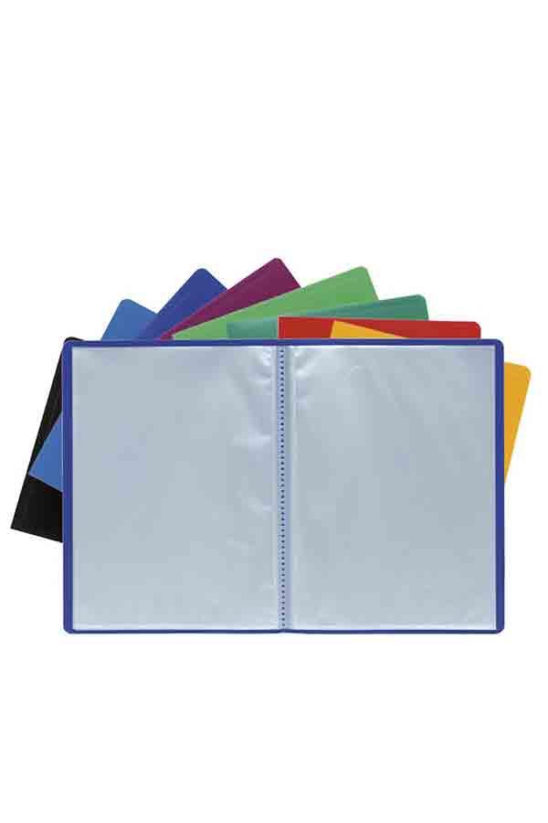 Ντοσιέ με ζελατίνες σουπλ mix χρωμάτων Exacompta A4 100 φύλλων 85100E