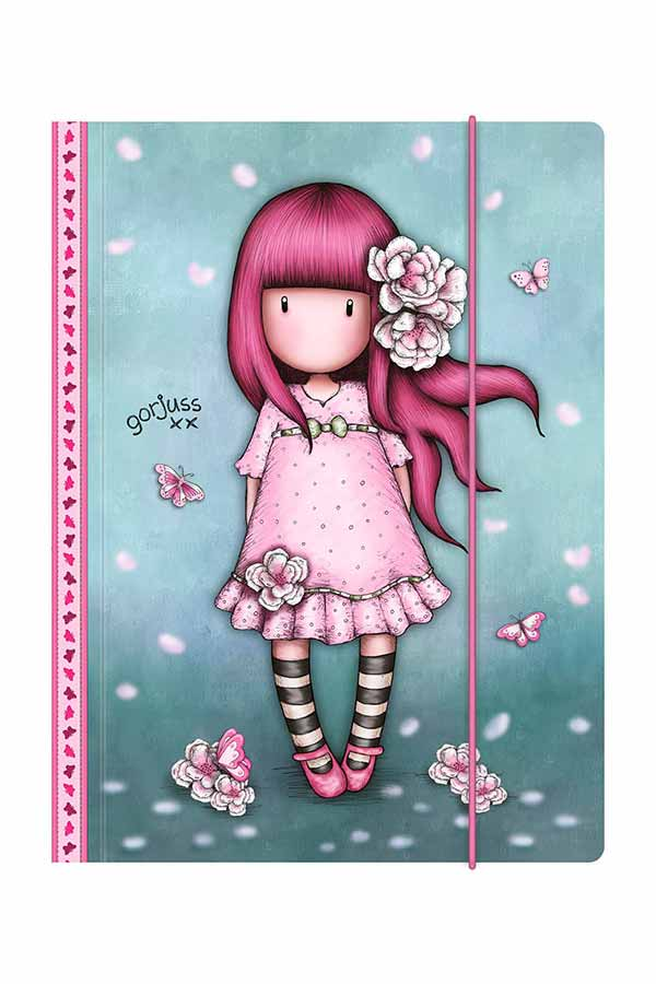 Santoro gorjuss Ντοσιέ με λάστιχο 25x34cm Cherry Blossom 812GJ06