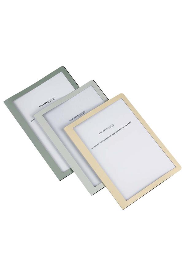 Ντοσιέ με ζελατίνες -σουπλ- Foldermate Polymaster A4 10 θέσεων γκρι 002