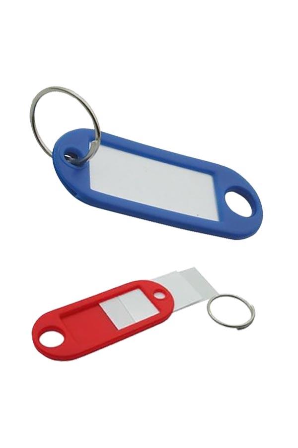 Μπρελόκ κλειδιών πλαστικό 50τεμ