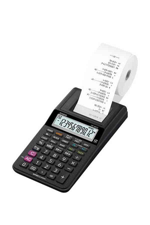Αριθμομηχανή με χαρτοταινία CASIO HR-8RCE