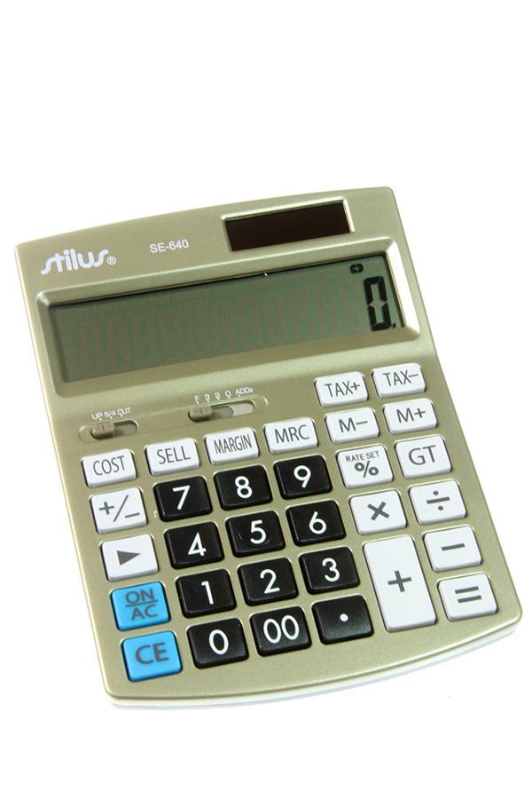 Αριθμομηχανή stilus SE-640
