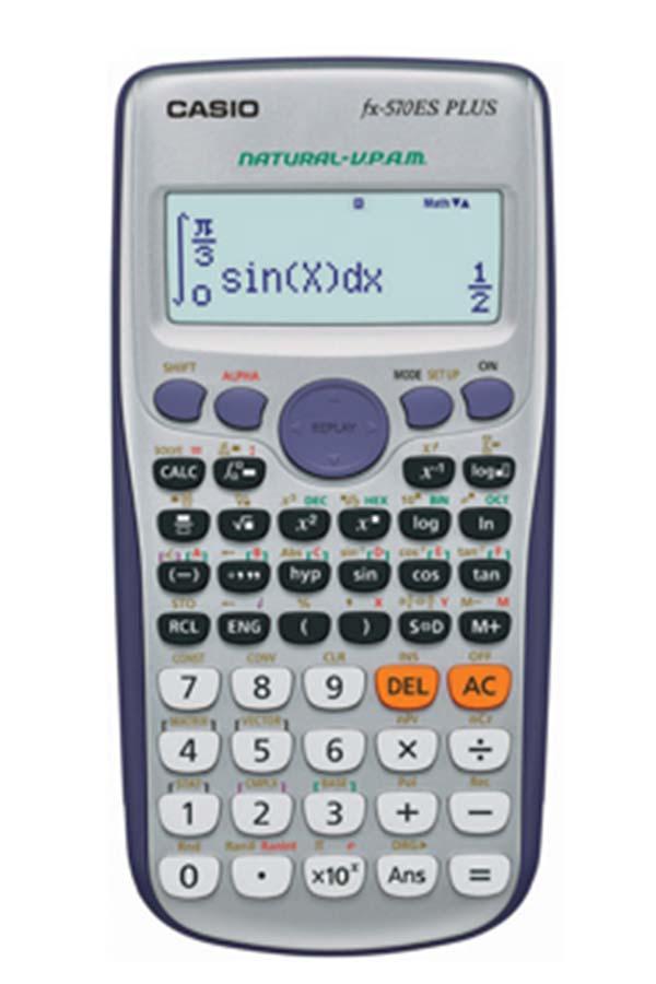 Επιστημονική αριθμομηχανή CASIO fx-570ES PLUS