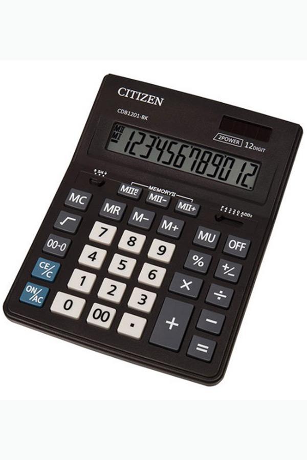 Αριθμομηχανή CITIZEN CDB1201-BK