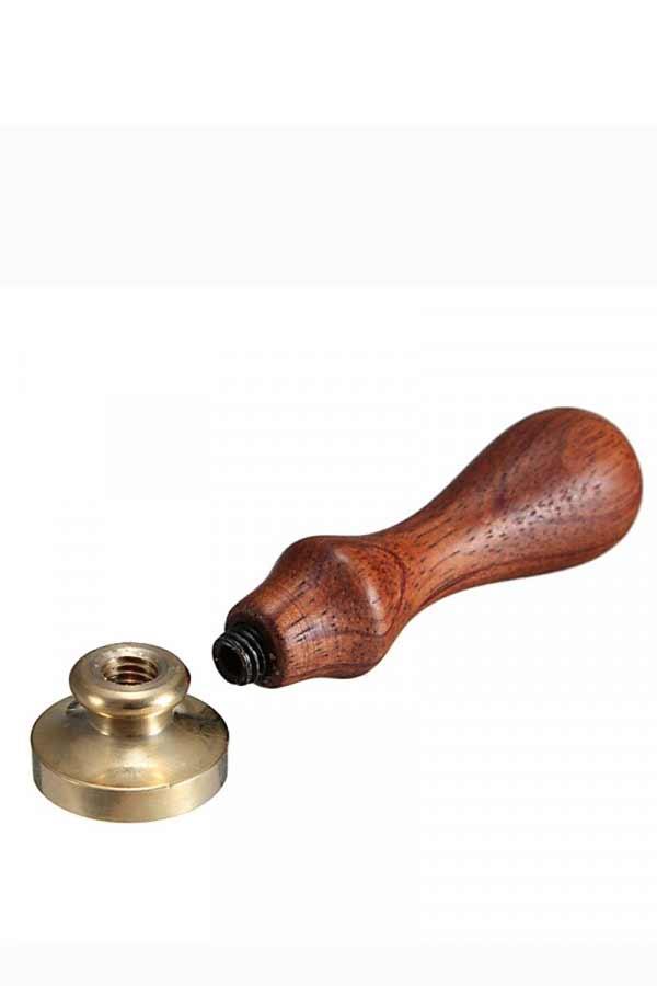Ξύλινο χερούλι για σφραγίδα βουλοκέρι
