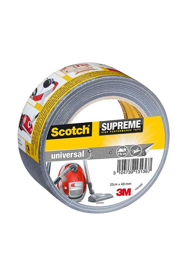 Κολλητική ταινία επισκευών Scotch Supreme ασημί 48mmx10m 4101S10