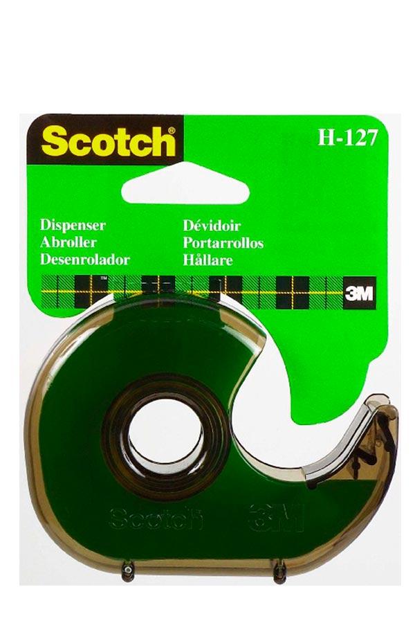 Βάση σελοτέιπ χειρός 3M Scotch σαλιγκάρι φυμέ H-127
