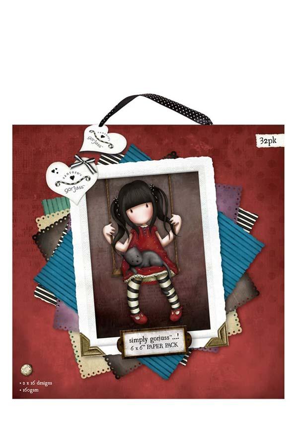Χαρτόνια scrapbooking Santoro gorjuss - Ruby GOR160103