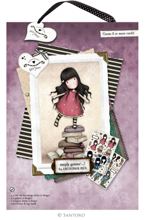 Χαρτόνια scrapbooking Santoro gorjuss - New heights GOR169102