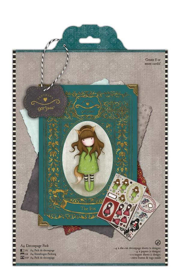 Χαρτόνια scrapbooking Santoro gorjuss - The fox GOR169108