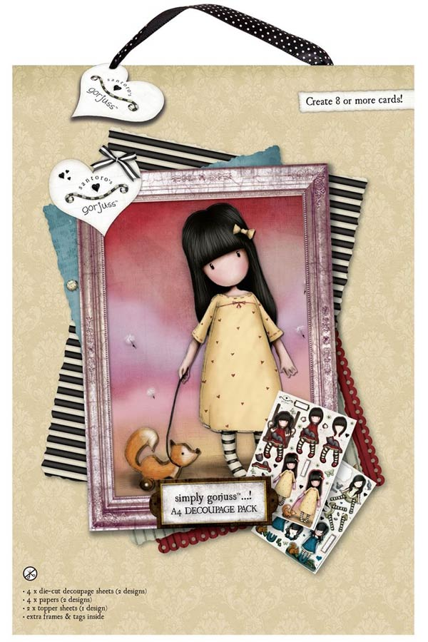 Χαρτόνια scrapbooking Santoro gorjuss - The pretend friend GOR169101